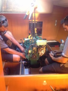 Euromarine completing a repower