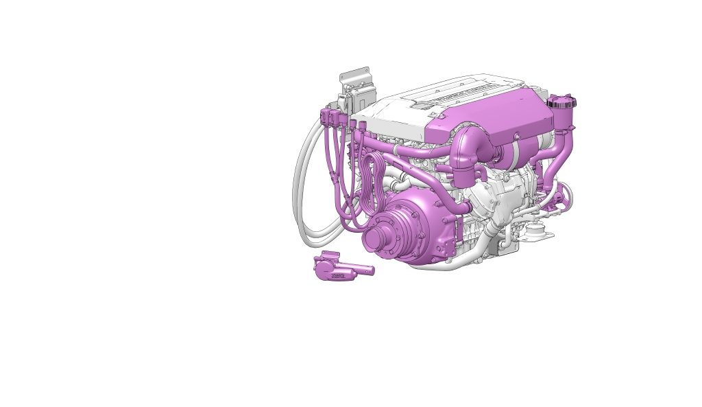 Volvo Penta D3 for repowering your boat.